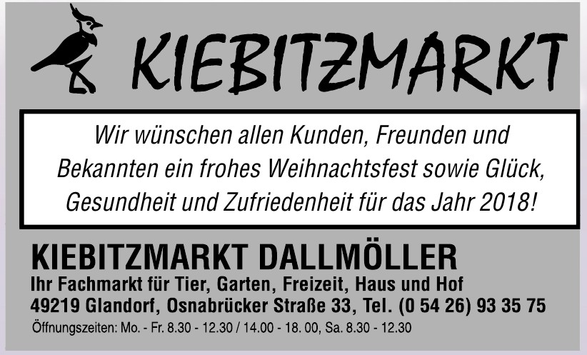 Kiebitzmarkt Dallmöller