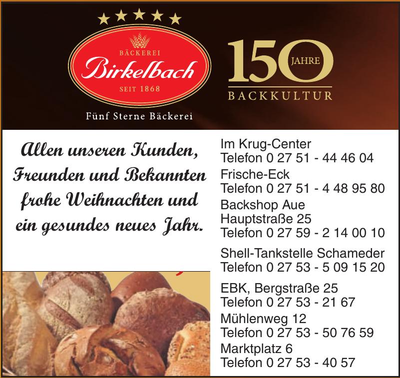 Bäckerei Birkelbach
