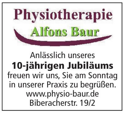 Physiotherapie Alfons Baur