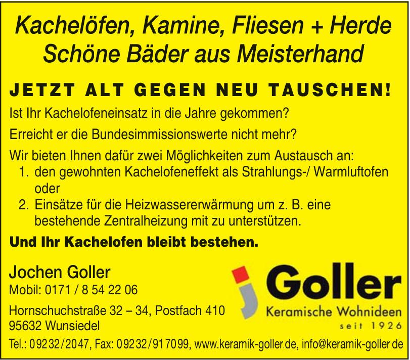 Joachim Goller Keramische Wohnideen