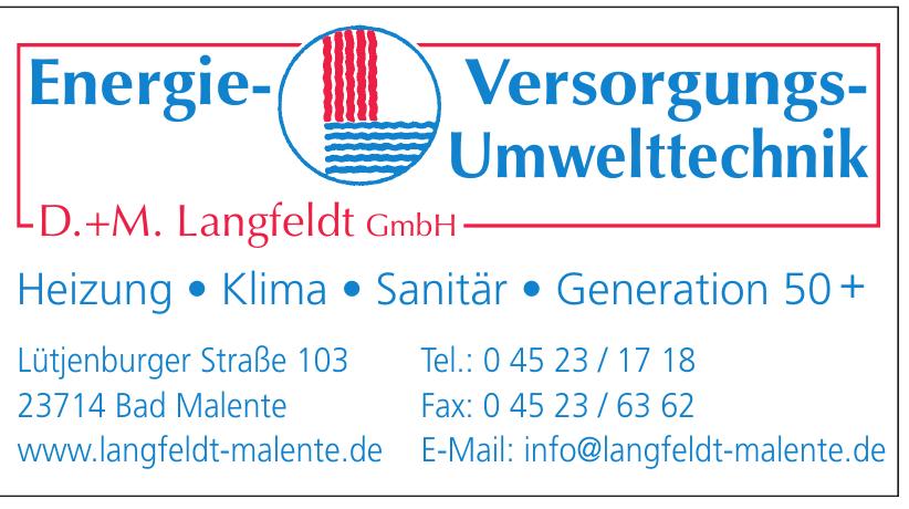 D.+M. Langfeldt GmbH