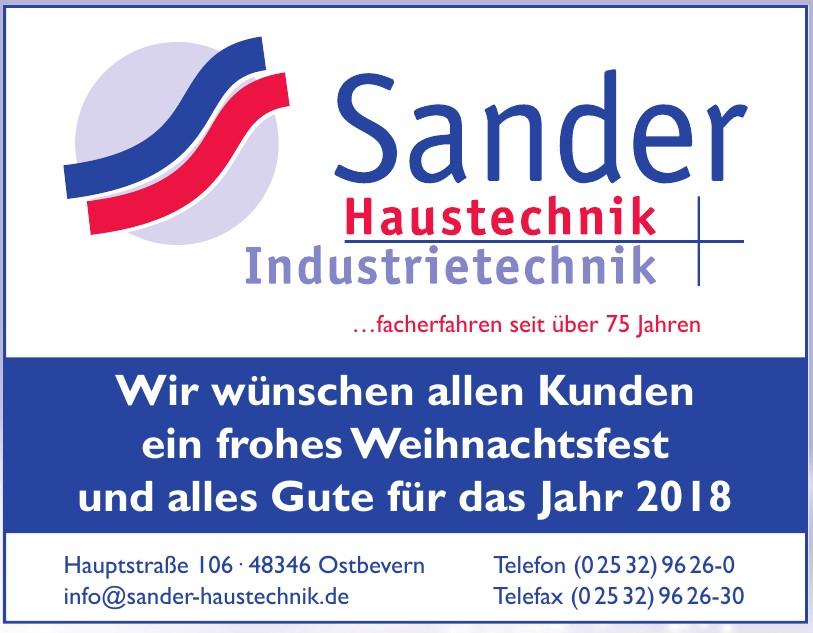 Sander Haustechnik Industrietechnik