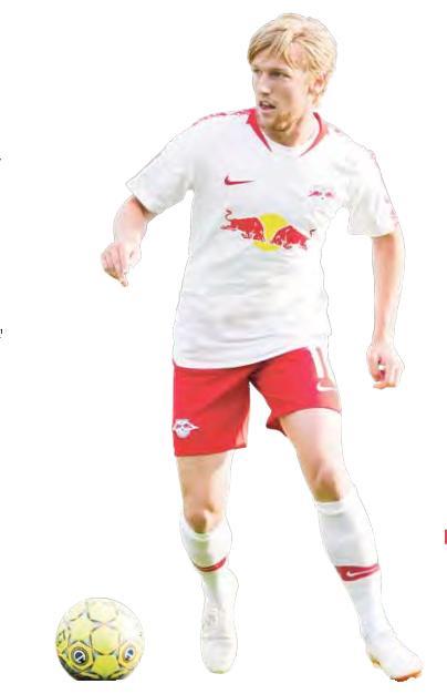 Emil Forsberg soll diese Saison in einer neuen Rolle Naby Keita im Mittelfeld ersetzen.