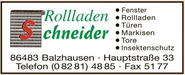 Rolladen Schneider