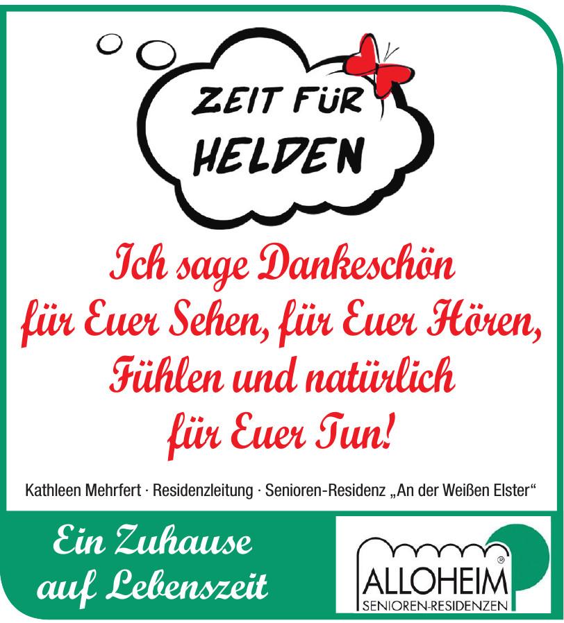 """Alloheim - Senioren-Residenz """"An der Weißen Elster"""""""