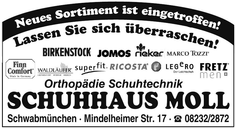 Orthopädie Schuhtechnik Schuhhaus Moll