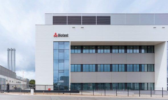 Abb. 8: Biotest investiert am Standort Dreieich mehr als 250 Mio. € in den Neubau eines Produktionsgebäudes. Dies soll die Kapazität mehr als verdoppeln.Fotos: © Dirk Wilhelmy