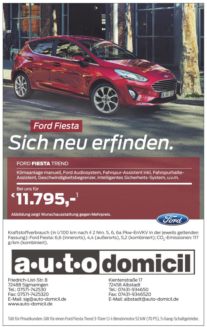 auto-domicil Sigmaringen GmbH