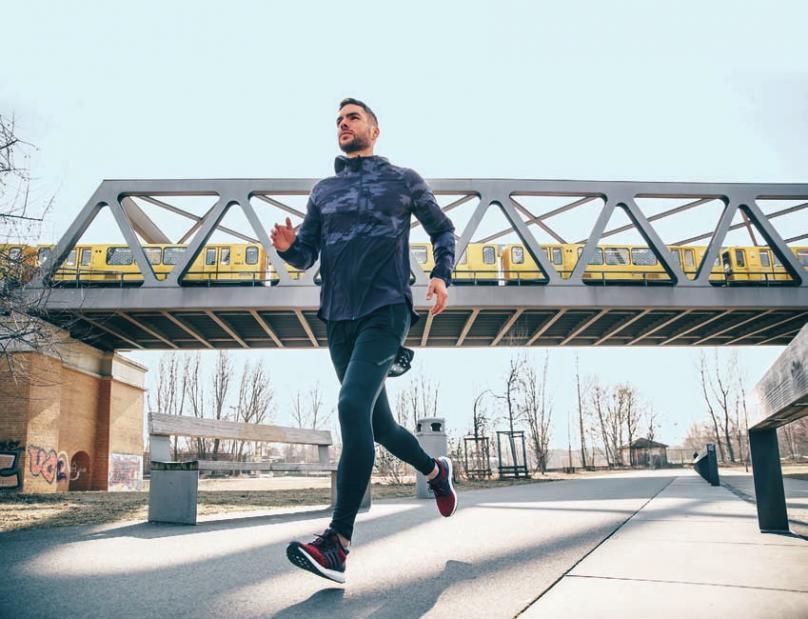 Perfekte Ergänzung: Laufen in der City und Training auf adidas Playgrounds