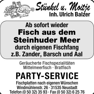Stünkel u. Moitje Party-Service