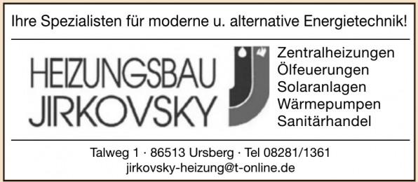 Heizungsbau Jirkovsky