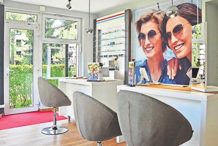 Moderne Technik, moderne Ausstattung: Seit April erstrahlt die Wiederitzscher Filiale in neuem Look. Foto: Augenoptik Findeisen