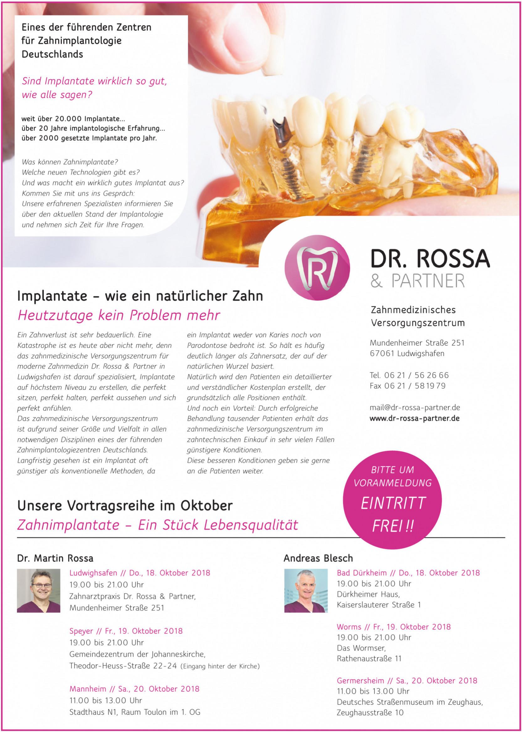 Dr. Rossa & Partner