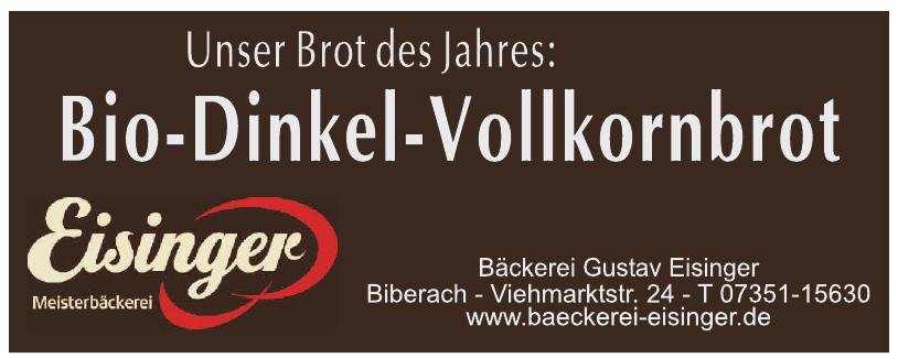 Bäckerei-Konditorei Gustav Eisinger GmbH
