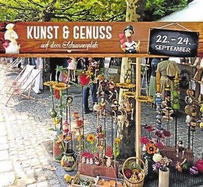 Viel Schönes ganz einfach auf dem Kunsthandwerkermarkt am Schrannenplatz in Schwabmünchen finden. Foto: WG