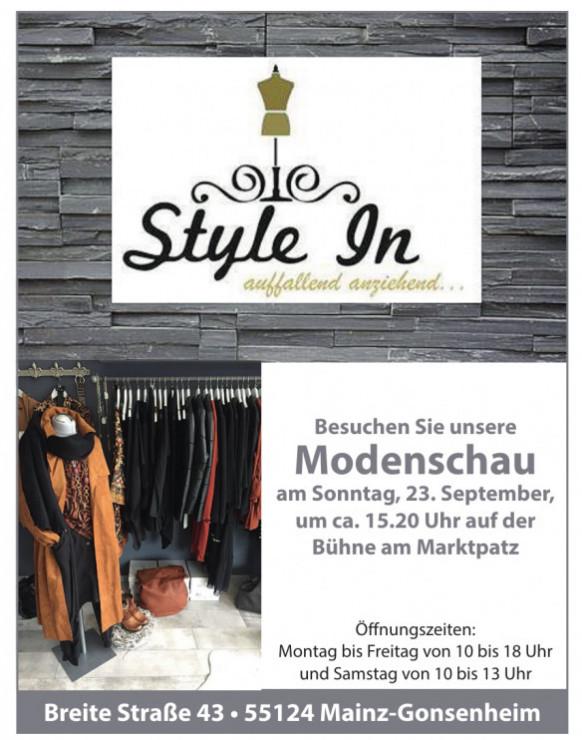 Modenschau Style In