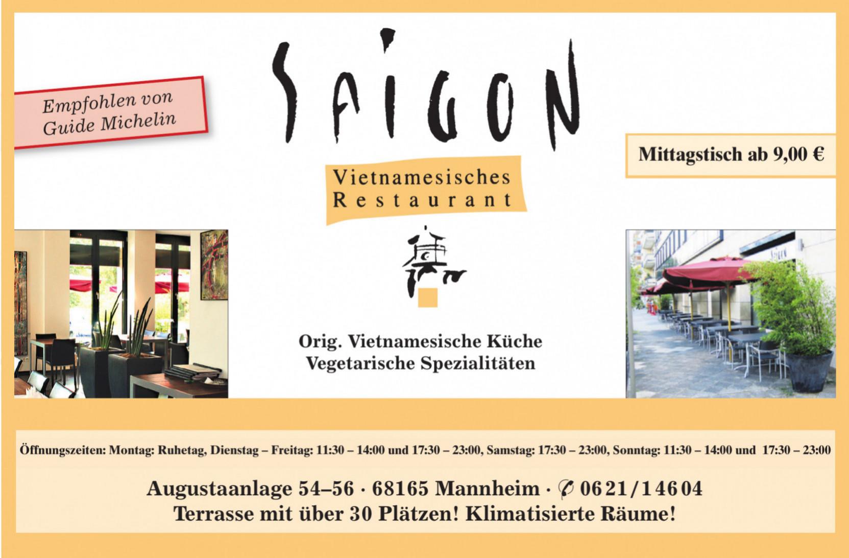 Saigon Vietnamesisches Restaurant