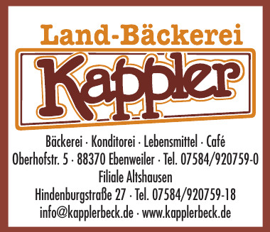 Landbäckerei Kappler