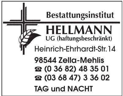 Bestattungsinstitut Hellmann UG