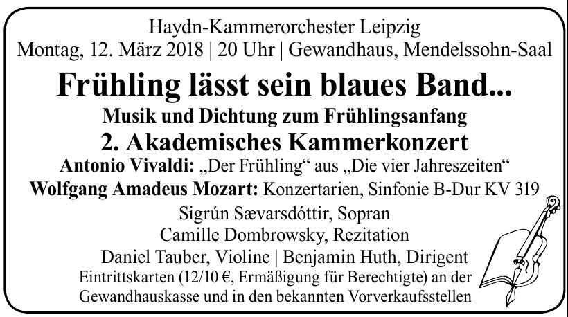 Haydn-Kammerorchester Leipzig