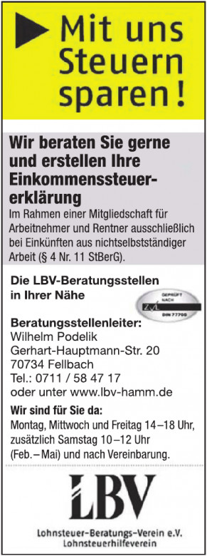 Lohnsteuer-Beratungs-Verein e.V.