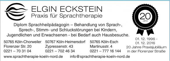 Elgin Eckstein Praxis für Sprachtherapie
