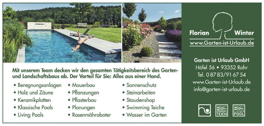 Garten ist Urlaub GmbH, Florian Winter
