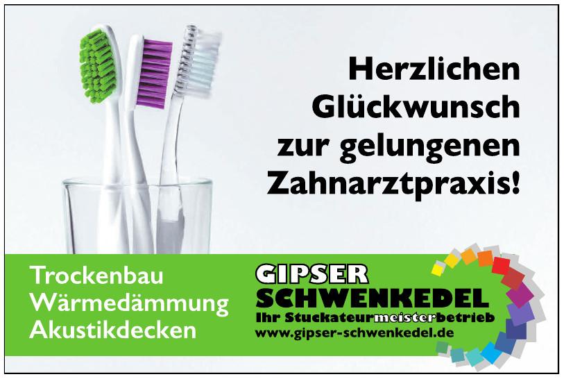 Gipse Schwenkedel
