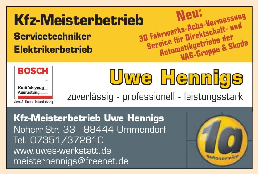 1a autoservice Uwe Hennigs
