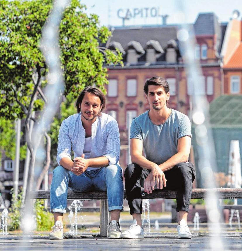 """Gründer Philipp Kohl und Donni Schoenemond des Mannheimer Filmproduzenten-Start-UPs """"Gallion"""""""