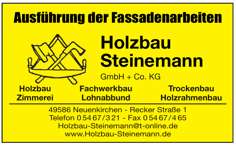Holzbau Steinemann GmbH + Co. KG