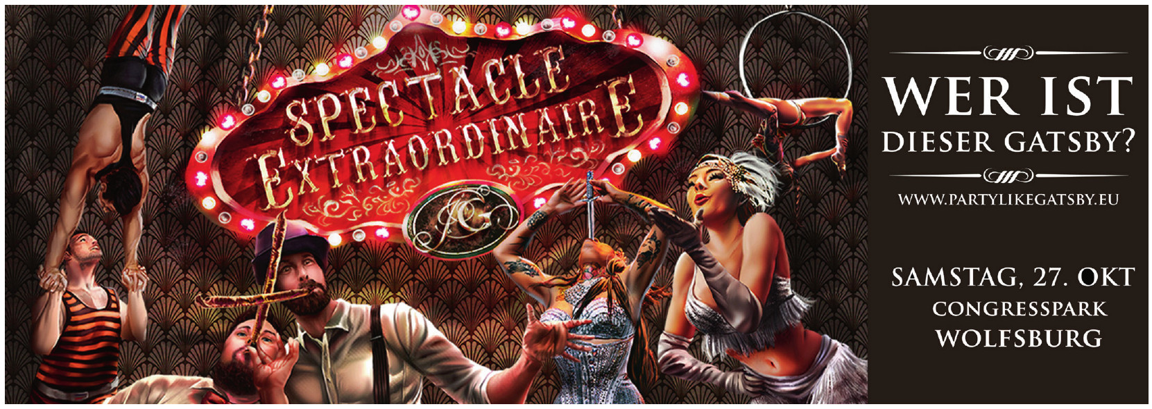 Party like Gatsby – Spectacle Extraordinaire