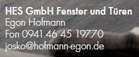 HES GmbH Fenster und Türen - Egon Hofmann