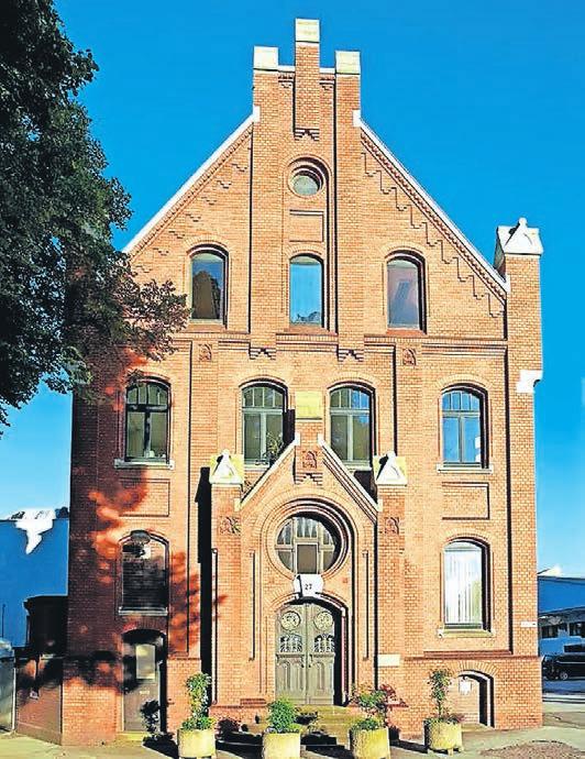 Der Werkzeughersteller Stahlwille hat sein altes Kontor saniert, das nun Historie und Moderne verbindet.Foto: Stahlwille