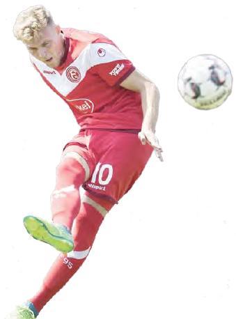 Teuerster Neuzugang der Vereinsgeschichte: Düsseldorf ließ sich Marvin Ducksch 2 Millionen Euro Ablöse kosten.
