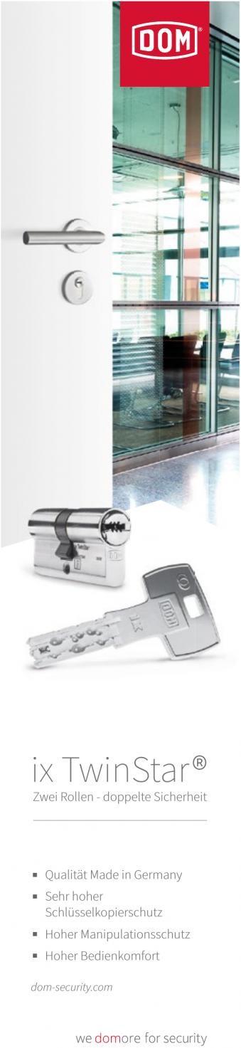 DOM ix TwinStar® - Zwei Rollen - doppelte Sicherheit