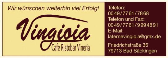 Vingioia - Cafe Ristobar Vineria