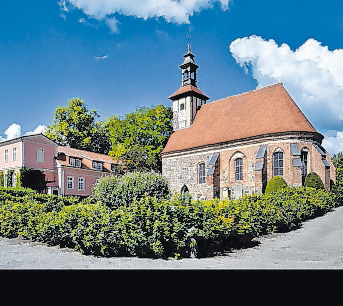 1250 errichtet: die Lietzener Komtureikirche