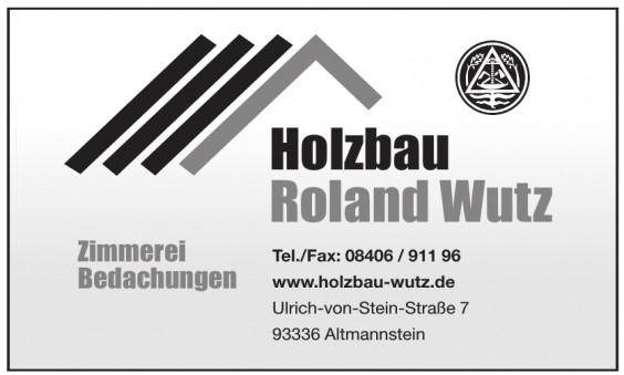 Holzbau Roland Wutz