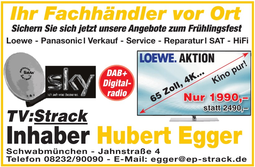 TV:Strack Hubert Egger
