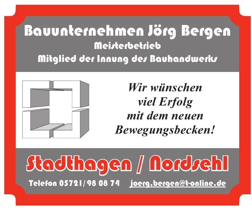 Bauunternehmen Jörg Bergen