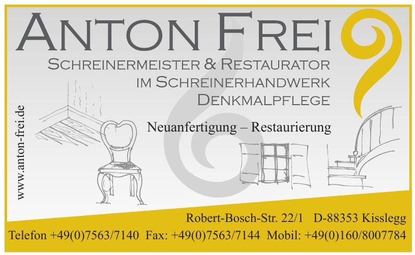 Anton Frei Schreinermeister & Restaurator