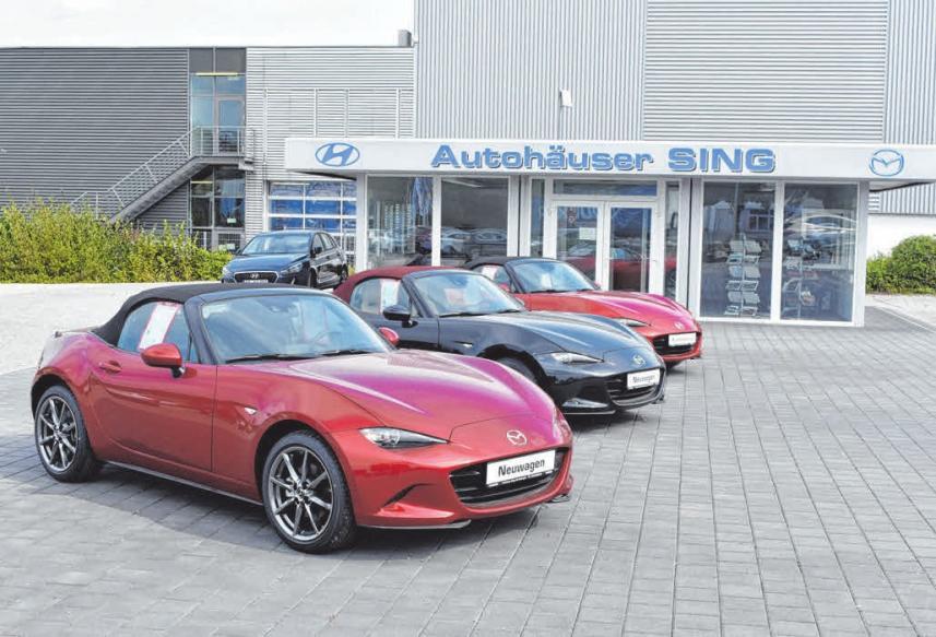 Schicke Neuwagen im Autohaus Sing entdecken.
