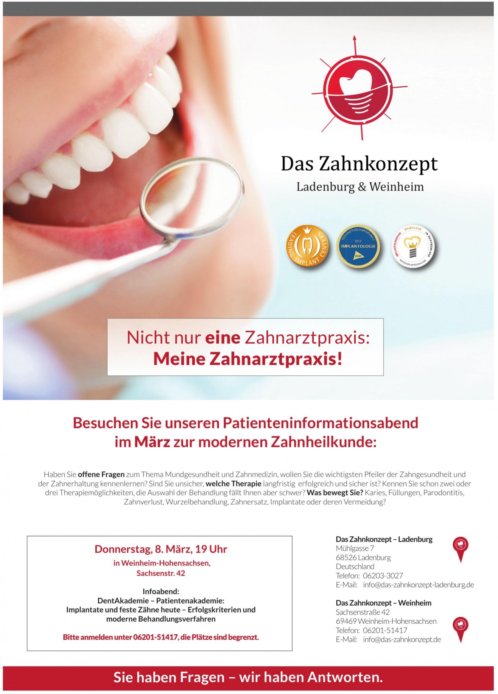 Das Zahnkonzept–Ladenburg