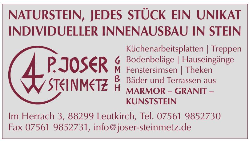 P. Joser Steinmetz GmbH