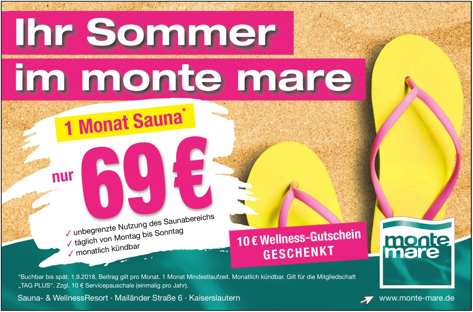 Monte Mare - Sport- & Freizeitbad
