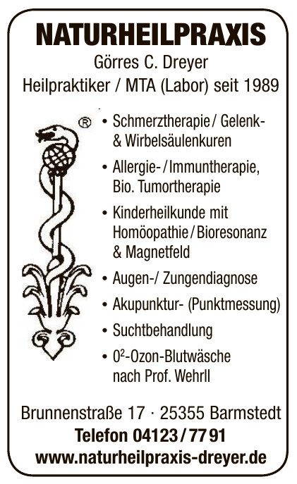 Naturheilpraxis Görres C. Dreyer