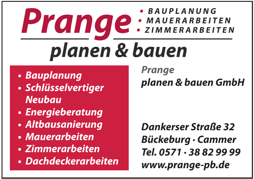 Prange planen & bauen GmbH
