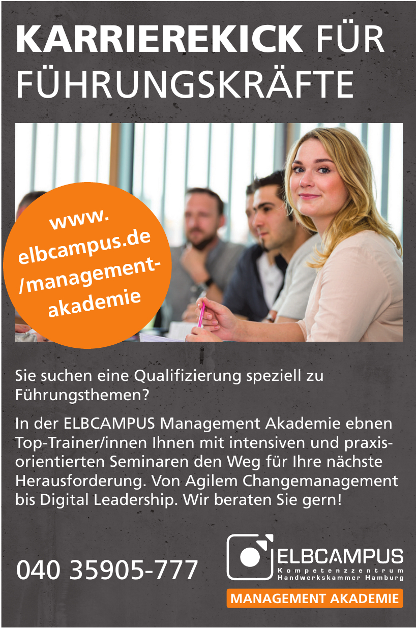ELBCAMPUS Management Akademie