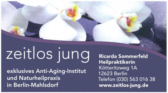 zeitlos Jung - Ricarda Sommerfeld Heilpraktikerin